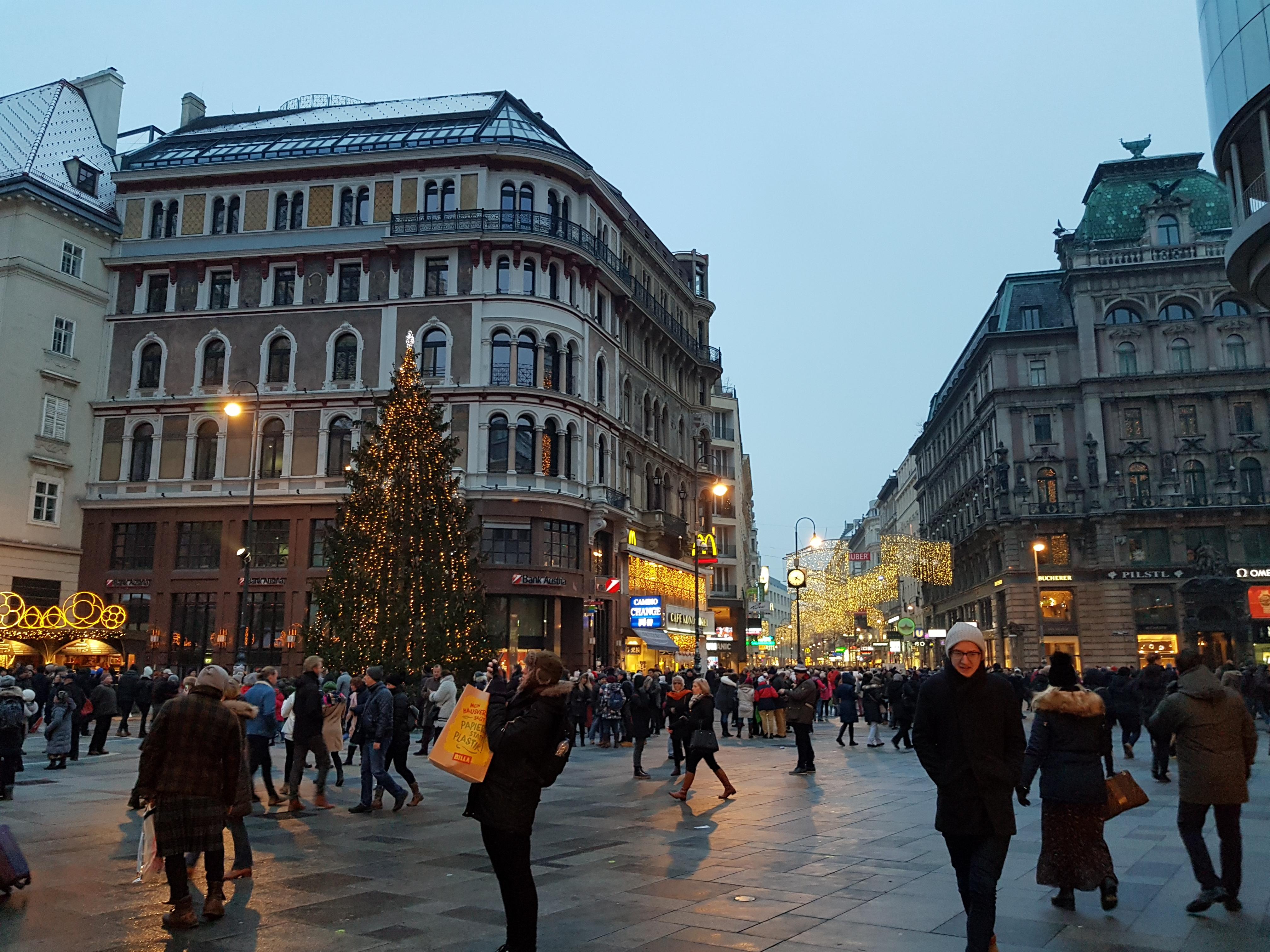 Targurile de Craciun din Viena